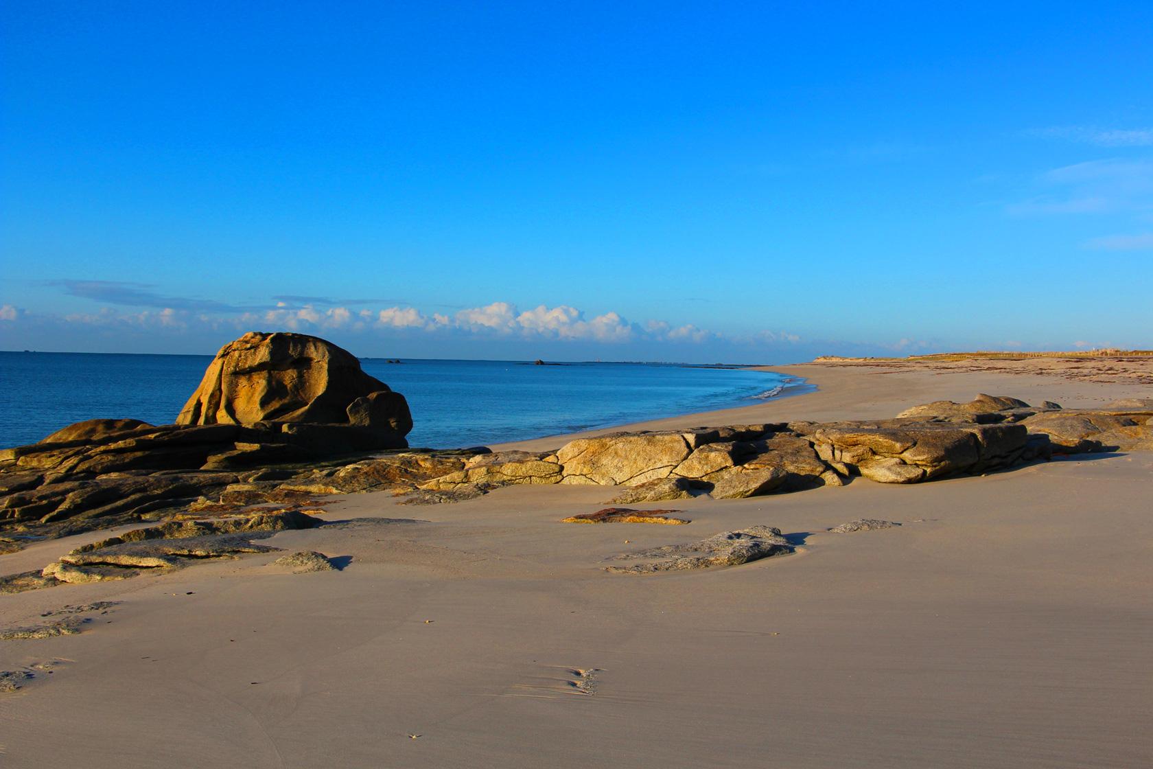 La plage de Kersaux